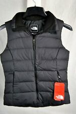 NEW THE NORTH FACE WOMENS NUPTSE 2 VEST BLACK 700 FILL DOWN INSULATED WARM