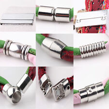 5 Sets DIY Silver Plated Tone Strong Magnetic Clasps Hooks Jewelry Finding New