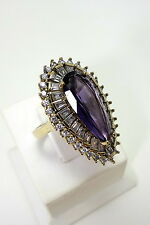 STERLING 925 SILVER HANDMADE JEWELRY  PRECIOUS GEMSTONE LADIES RING