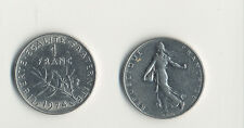 France 1 Franc coin - Fine condition
