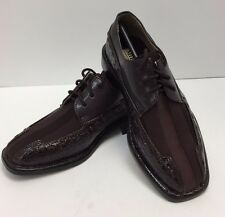 Boys Dress Shoes Miralto Youth Fudge with Satin & Laces K522FDG Sizes 12.5 & 13