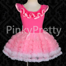 Girl Petti Dress Pettidress Pettiskirt Tutu Dance Party Birthday 2y-9y PP106