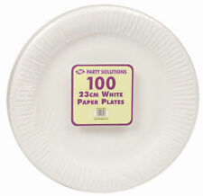 DISPOSABLE DINNER PLATES - Pack of 100