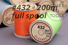 "Sajou Fil au Chinois ""Lin Cable"" Waxed Linen Thread Full Spool #432 0.63mm Cord"