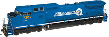 Atlas 40002721 N CSX (Conrail Patch) DASH 8-40CW Locomotive w/DCC #7302