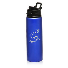 25oz Aluminum Sports Water Bottle Travel Water Polo