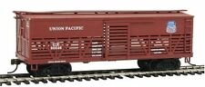 Con-Cor 1052095 HO Union Pacific Wood Stock Car (Old-Time Cattle) #2