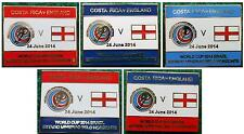 Costa Rica v England World Cup 2014 Estadio Mineirao Belo Horizonte Brazil Badge