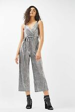 TOPSHOP *Wrap Plisse Jumpsuit* SIZE_UK14