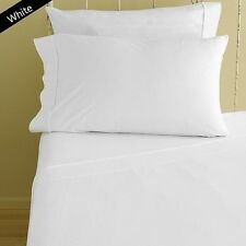 1000TC EGYPTIAN COTTON FINE WHITE SIZE AVAILABLE EXTRA DEEP POCKET FITTED SHEET