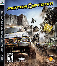 MotorStorm (Sony PlayStation 3, 2007) NEW & FACTORY SEALED!  FAST, FREE SHIPPING