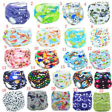 Lovely Kids Infant Adjustable Reusable Washable Baby Cloth Diapers Nappy Cover