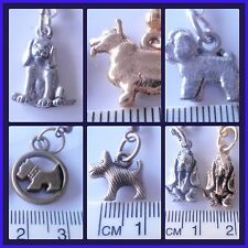 Beagle,Corgi Basset Westie Yorkshire Terrier Bichon pewter dog breed earrings