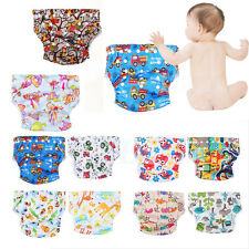 Baby Infant One Size Pocket Cloth Diaper Washable Reusable Nappy Adjustable ES
