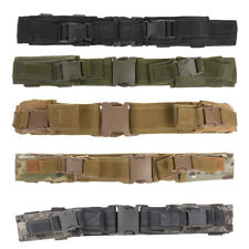 """Tactical Duty Belt Military Style 2"""" Wide Waistband with Magazine Pouches"""