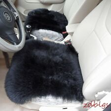 Car Seat Covers Genuine Sheepskin Long Wool Chair Cushion Seat Breathable New