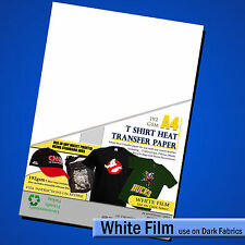 T shirt Iron On Transfer Paper A4 - INKJET - Tee Shirt Decal ( For DARK Fabric )