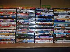 Wholesale Lot 100 DVDs&DVDs Movies Assorted(Action,Drama,Comedy,Romance,Family)