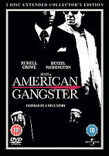 American Gangster (DVD, 2-Disc Set) Collectors Edition