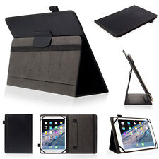 Slim Protective Folio Universal Case PU Leather Stand Cover for IPad Samsung