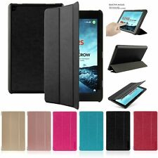 HOT PU Leather Stand Case Cover for Amazon Kindle New Fire HD 7 8 10 2015 2016