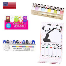 Cute Animal Post It Notes Stocking Stuffers Kids Teens All Gifts FAST USA SELLER