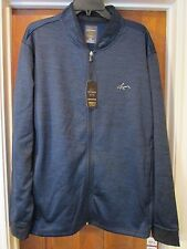 NWT Men's Greg Norman XXL Blue Tasso Elba HydroTech Performance Golf Jacket