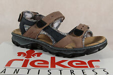 Rieker Ladies Sandals Sneakers Leather brown 38872 NEW