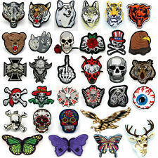 Cool Embroidered Applique Iron On Patch design DIY Sew Iron On Patch Badge Gift