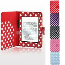 For Amazon Kindle 4 5 PU Leather Smart Auto Wake Sleep Case Cover Pouch Colorful