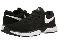 NIKE MENS LUNAR FINGERTRAP TR BLACK WHITE SHOES 2017 **FREE POST AUSTRALIA