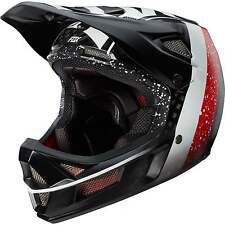 Fox Rampage Pro DH Mountain Bike Carbon Kroma MIPS Helmet Black White