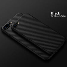 Luxury Ultra thin Carbon Fiber Back Case Cover For Apple iPhone 7 / 7 Plus NEW