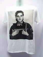 ELVIS PRESLEY MUG SHOT T-SHIRT (XL-2XL) OFFICIAL 1956 THROWBACK #8421
