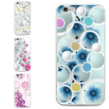 FLORAL CIRCLES PRINT PHONE CASE COVER FOR SAMSUNG GALAXY S6 IPHONE 6 6S DAINTY