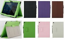 1x PU Leather Folding Stand Folio Flip Case Cover Skin for Sony Xperia Tablet Z