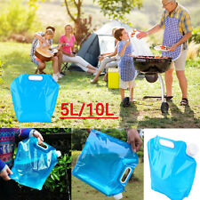 5L/10L Folding Drinking Water Container Storage Lifting Bag Camping BBQ Picnic