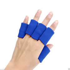 10pcs Elastic Basketball Finger Guard Support Sleeves Sports Protector M R L