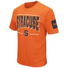 Syracuse University Men's T-Shirt Short Sleeve Distressed Tee