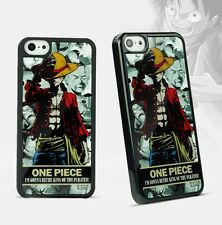 Anime One Piece D Luffy iPhone Case Cover Holder for iPhone 4 4s 5 5s 6 Plus