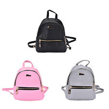 Women Girl Backpack Travel PU Leather Handbag Rucksack Shoulder School Bag nb