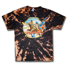 Iron Maiden Trooper Bleached Vintage Tee Shirt by Cloth Cartel