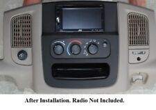 Dodge Ram 2002 2003 2005 Radio Stereo Install Double Din Navigation Dash Kit