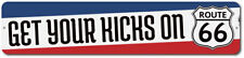 Get Your Kicks On Route 66 Sign, Personalized Historic US Road Name ENSA1002367