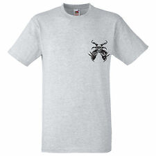 HALLOWEEN SCARY SKELETON CLAWS BONES LICH DEATH T SHIRT HALLOWEEN COSTUME HORROR