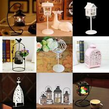 Various Metal Tealight Candle Holder Home Wedding Hanging Lantern Decor