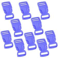 """MagiDeal Plastic Release Side Buckle Clip Slider Strap 10 Pieces 3/4"""" 19mm"""