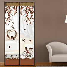 Lovely Birdcage Pattern Home Decor Curtain Flying Insects Door Curtain