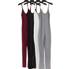1Pcs Casual Womens Cotton Sexy Fashion Jumpsuit 2017 Summer New V-Neck Rompers