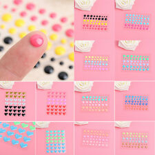 Enamel Dots Resin Scrapbooking Stickers Self-adhesive DIY Paper Album Crafts New